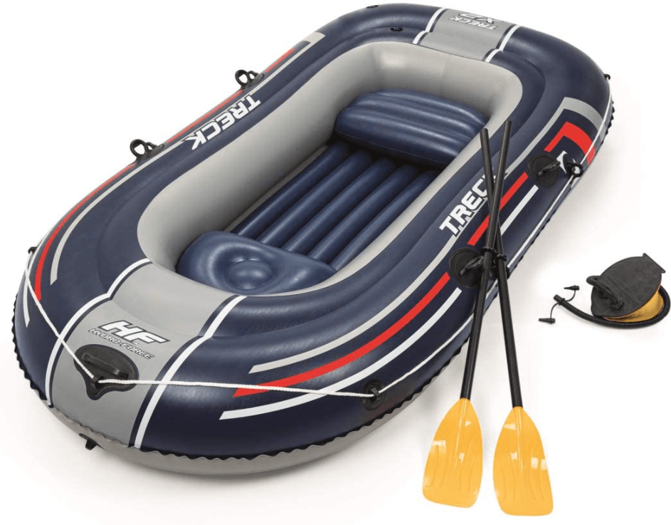 bateau peche gonflable photo