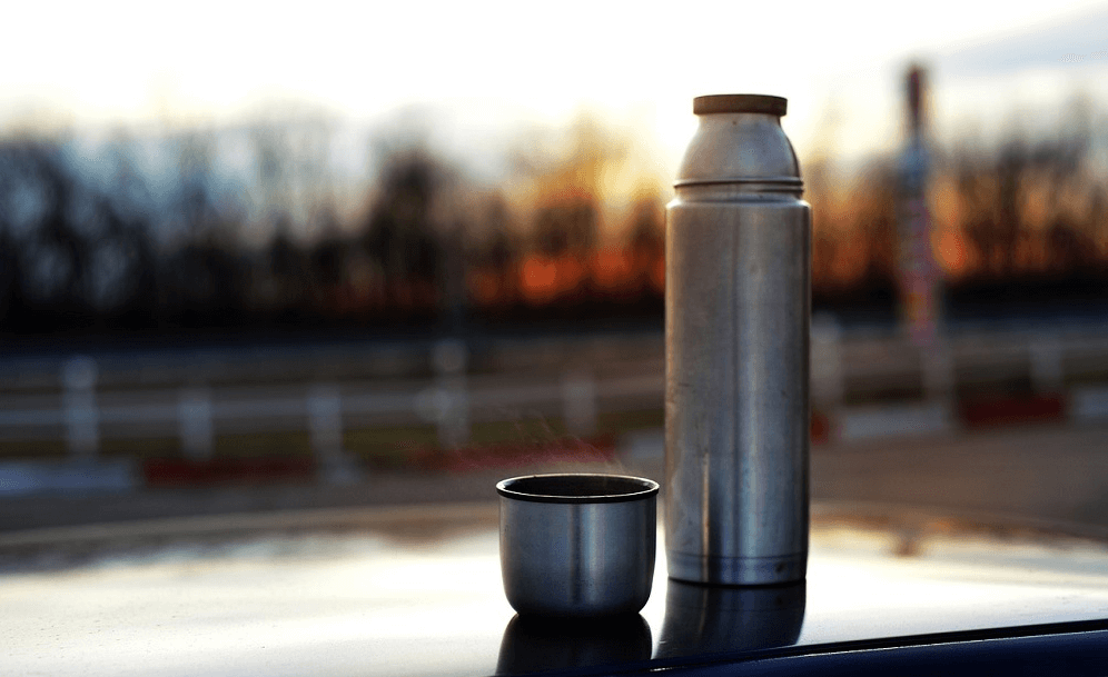bouteille qui garde au chaud photo