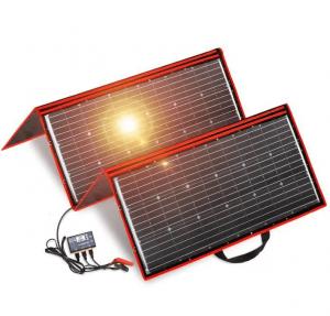 panneau solaire camping car photo