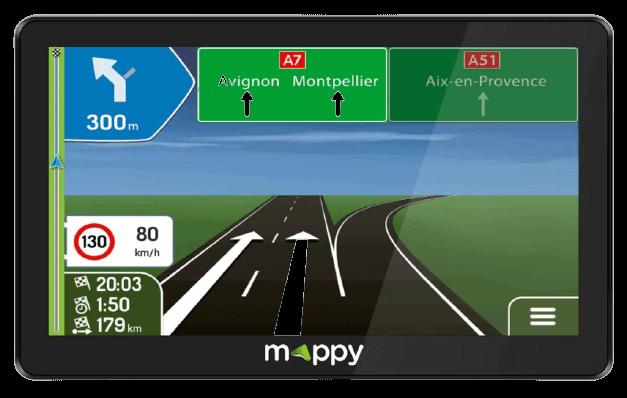 GPS Garmin camping car photo