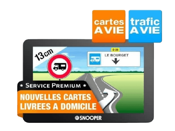 GPS pour camping-car photo