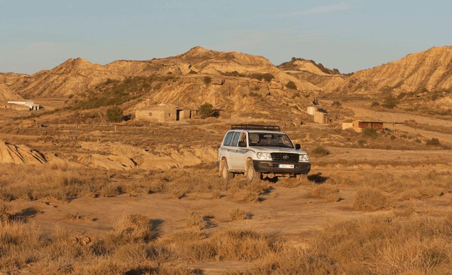 Comment visiter le desert des bardenas photo