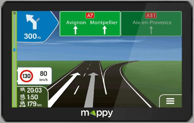 GPS pour poids lourds photo