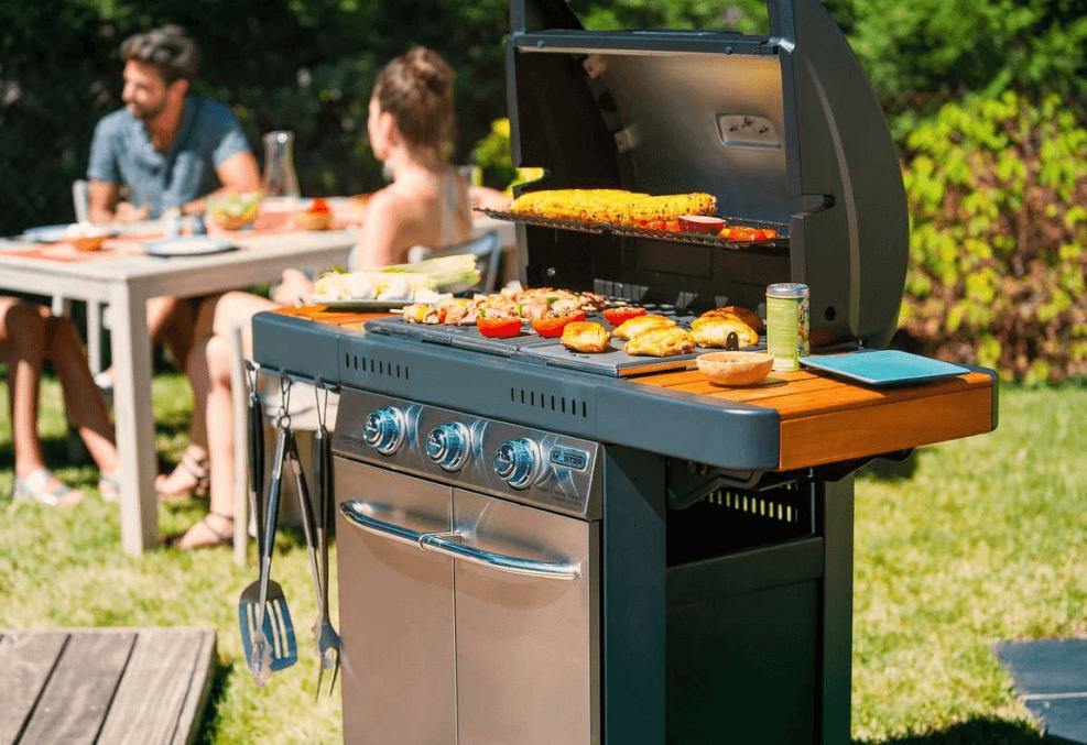 barbecue gaz pas cher photo