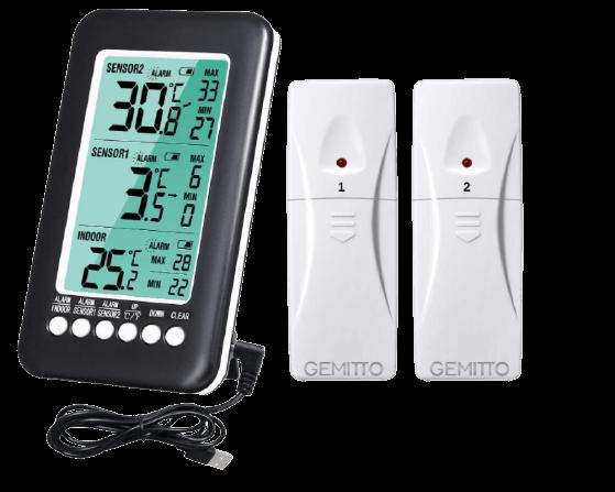 thermometre interieur exterieur sans fil photo